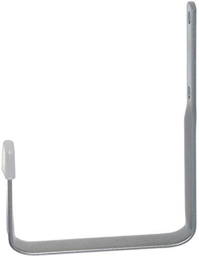 Element System 18133-00110 Wandhaken Universalhalter / 2 Stück/H x T = 130 x 80 mm/weißaluminium