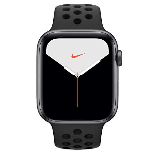Apple Watch Series 5 Smartwatch, anthrazit, 44mm, Sportarmband