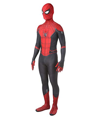 The Amazing Spider Man Far from Home Costumes Adult Kids Unisex Lycra Halloween Cosplay Suit (Adult-Medium, Far From Home)