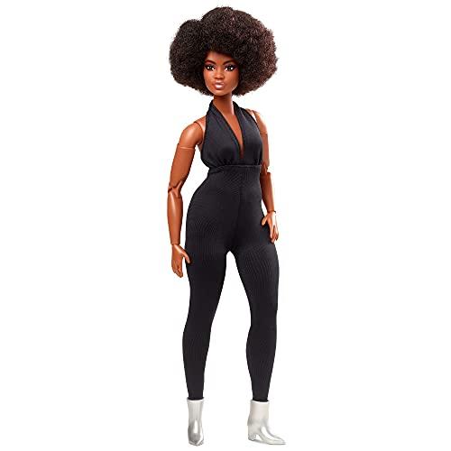 Barbie Signature Looks mit schwarzem Jumpsuit