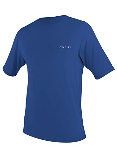 O'Neill Men's Basic Skins UPF 30+ Shortsleeve Sun Shirt 2XL Pacific