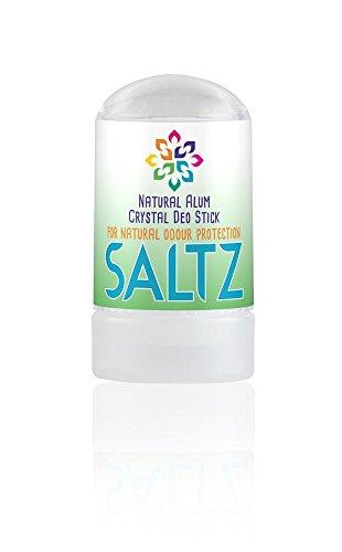 SALTZ - Kristall Alaun 100 % Natürlicher, Bio Deo-Stick - 50 g