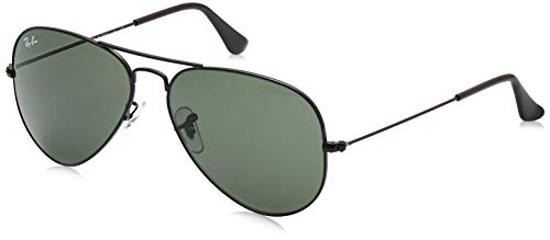 Ray-Ban Men's Gradient Aviator Classic RB3025-L2823-58 Black Sunglass