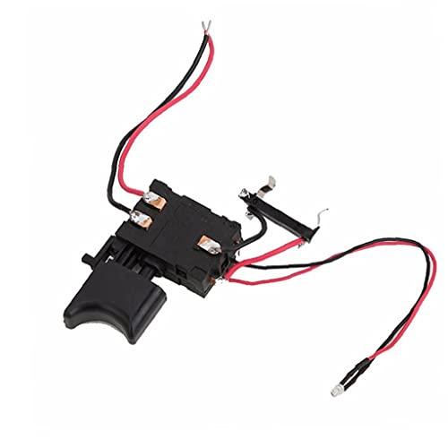Interruptor de perforación eléctrico 12V FA2-16 / 1WEK Batería de litio Interruptor...