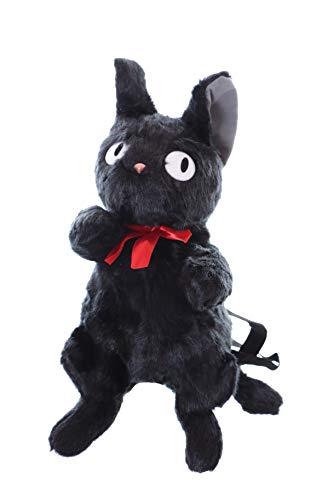 Kawaii-Story LB-241 zwart kat figuur heks Halloween pluche rugzak tas Lolita pastel Gothik Harajuku