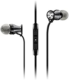 Sennheiser MOMENTUM In-Ear Headphones (Black/Chrome - Samsung Galaxy/Android) by Sennheiser [並行輸入品]