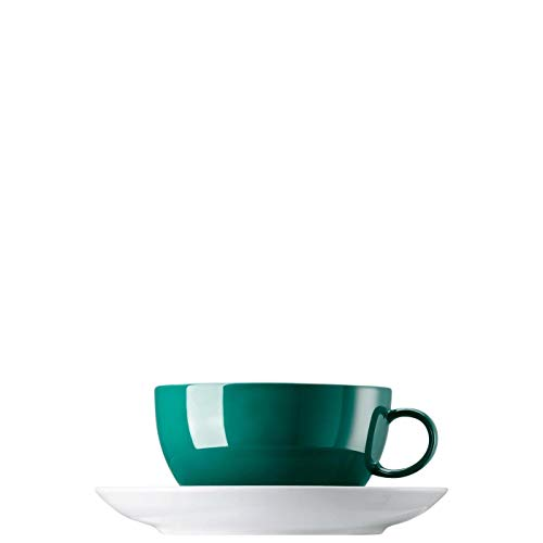 Rosenthal-Thomas 10850-408544-14670 Sunny Day Seaside Green Cappuccinotasse 2 tlg.