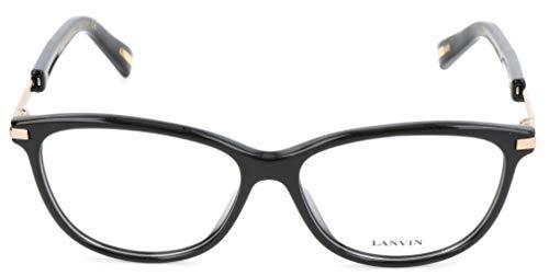 Lavin Lanvin Brillengestelle VLN767 53 14 135 Rechteckig Brillengestelle 53, Schwarz