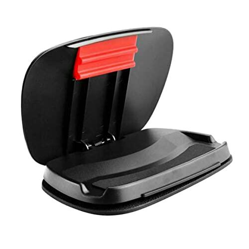 Soporte para teléfono para automóvil Tablero de Instrumentos Soporte Universal para Montaje en Clip para teléfono móvil Soporte para automóvil Soporte para teléfono Manos Libres - Negro 17.5X12X2.4Cm