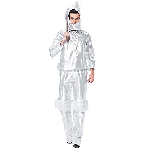 Disfraz Halloween Adulto Hombre Carnaval Cosplay El Mago De Oz, El Hombre De Hojalata Interpreta Al Rey De La Ciudad Esmeralda