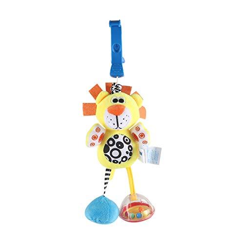 SANGSHI Crib Rattle, juguete para bebé, dibujos animados, cama, campana, campana, sonajero, juguete suave, puzle para recién nacidos