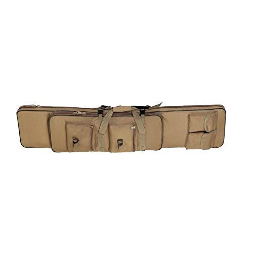 Versione aggiornata: questa borsa per pistola dal design nuovo dispone anche di due maniglie per il trasporto e cinghie per lo zaino per trasportare la borsa per le pistole più lunghe mantenendo le mani libere. Gli spallacci sono avvolti da una coper...