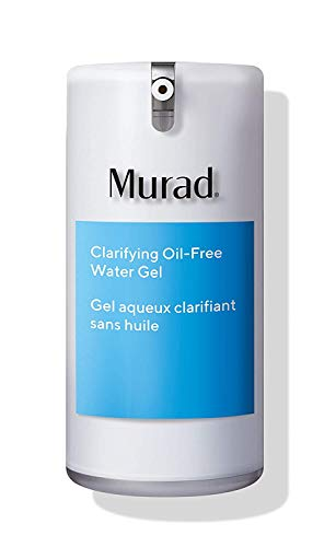 Murad Clarifying Water Gel - Hydrating Face Moisturizer for Women & Men - Gel Moisturizer for Face, Neck & Chest - Facial Skin Care Product with Non-Greasy Finish, 1.6 Fl Oz
