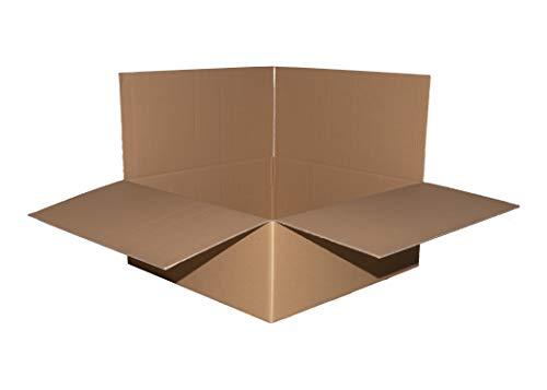 4 Stück Felgenkarton 525 x 525 x 315 mm Reifenkarton bis 19 Zoll Versandkarton doppelwellig