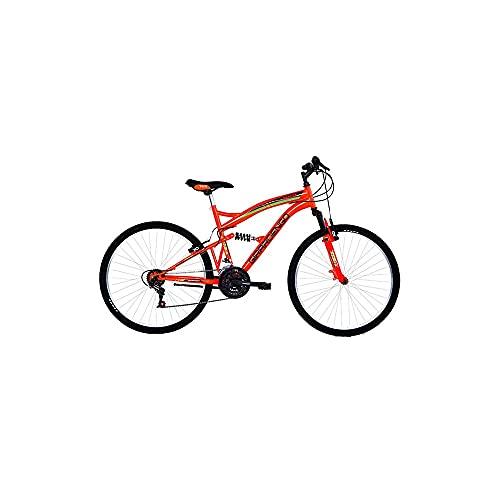Masciaghi Bicicletta Mountain Bike Ruota 24 per Ragazzo Arancione