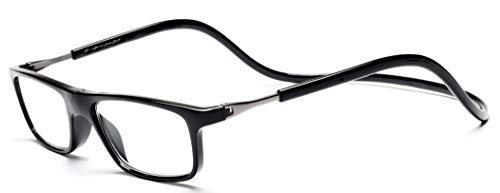 Click Magnetic Reading Glasses Hang Neck Black03 250