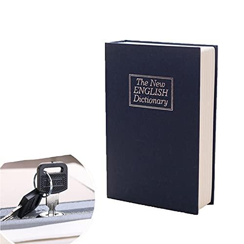 QNDYDB Diccionario Transferencia Libro Seguro, Libro Seguro con Llave, Libro Secreto Safe Safe, guardado en la Sala de Estudio sin ser Descubierto Blue-M