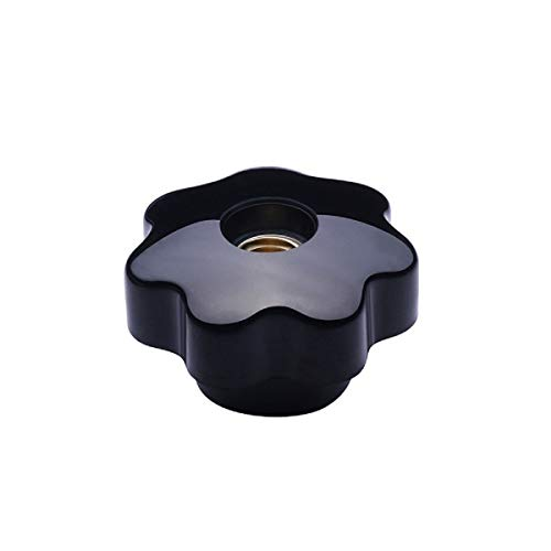 Color: Black, Size: M12x40mm 20PCS Black Red Bakelite Ball Knobs M5//M6//M8//M10//M12//M16 Thread Without Insert Machine Tool Replacement Black Ball Lever Knob
