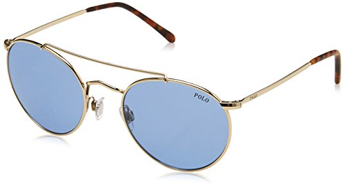 Ralph Lauren Polo 0PH3114 Gafas de Sol, Pale Gold, 51 para Hombre