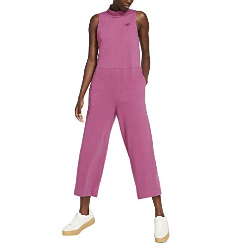 Nike Sportswear Women's Jersey Jumpsuit CJ3744-528 Size M Purple