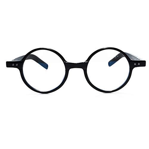 Reno – Gafas de descanso con filtro de luz azul – Hombre mujer – Cristales antirreflejos 100% UV – Especial pantalla ordenador, ordenador, juego – Anti Fatiga, protección de luz azul (negro)