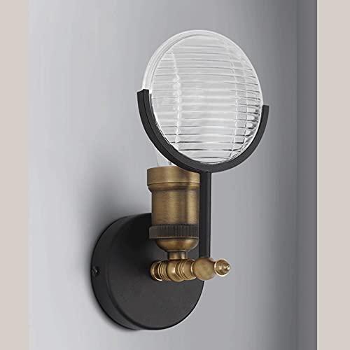 YIXIN2013SHOP Aplique de Pared Lámpara de Pared de Modelado de Faro del Coche de la Vendimia, Sala de Estar del Dormitorio para el hogar lámpara de Pared Decorativa Retro Lámpara de Pared