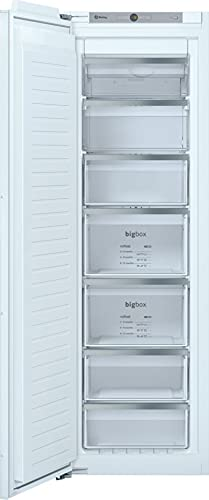 Balay 3GIF737F - Congelador vertical, integrable, 1 puerta, 177.2 x 55.8 cm, color blanco