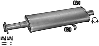ETS-EXHAUST 50441 Silencioso Trasero pour PANDA 0.9 1.0 HATCHBACK 40//45hp 1986-2003 // Y10 1.0 HATCHBACK 45hp 1986-1990 el kit de montaje completo