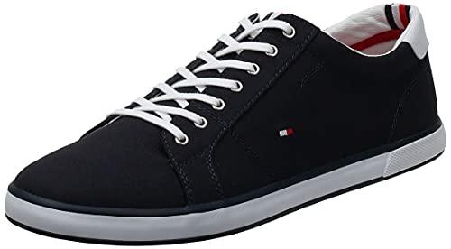 Tommy Hilfiger Herren Schuhe Lace Up Sneaker Harlow Blau Sneakers 41 EU