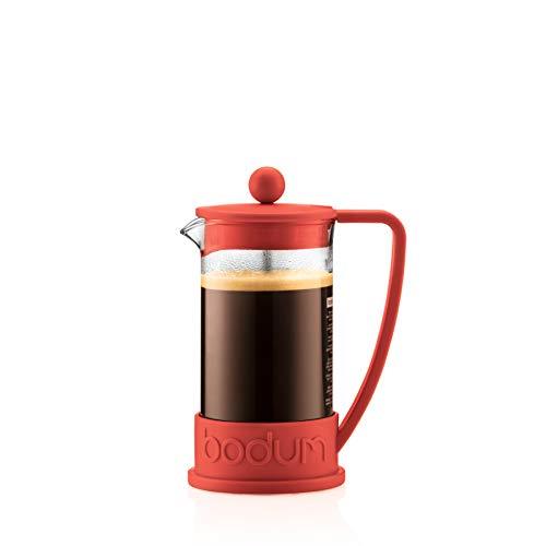 Bodum BODUM ボダム BRAZIL フレンチプレスコーヒーメーカー 1.0L レッド 10938-294