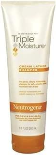 Neutrogena Triple Moisture Cream Lather Shampoo 8.5 Oz (Pack of 6)