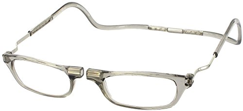 Clic XXL Magnetic Reading Glasses in smoke, +2.00