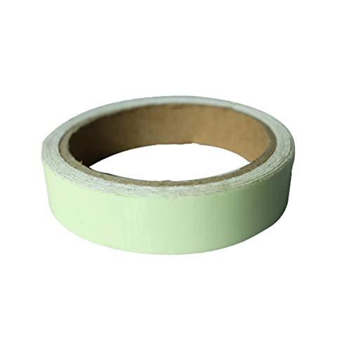 Preisvergleich Produktbild Sicherheitsklebeband grün Leuchtend Abnehmbares Leuchtband selbstklebendes Fluoreszierendes Warnband (JBP-X)
