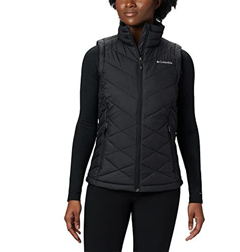 Columbia Women's Standard Heavenly Vest, Black, Medium