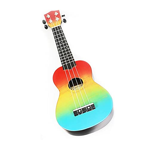 Electric Guitar 21 Inch Kids Wooden 4 String Portable Guitar Instrument Which Is Easy To Learn Suitable For Both AdultsBeginner For Band Lightweight