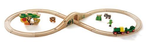 Brio - 33004 - Circuits de train en bois - Coffret en 8 \