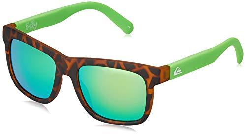 Quiksilver Balky Gafas De Sol, Niños, Brown/Brown/Green-Combo, 1Sz