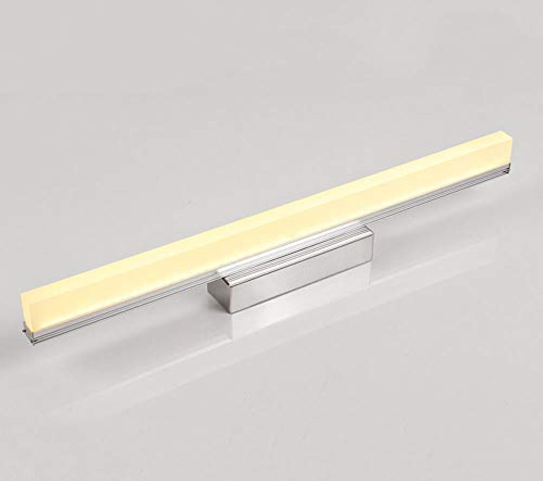 WENYAO Spiegel Frontleuchte, Moderne wasserdichte Anti-Fog-Wandleuchte Bad Badezimmerspiegelschrank Make-up-Lampe