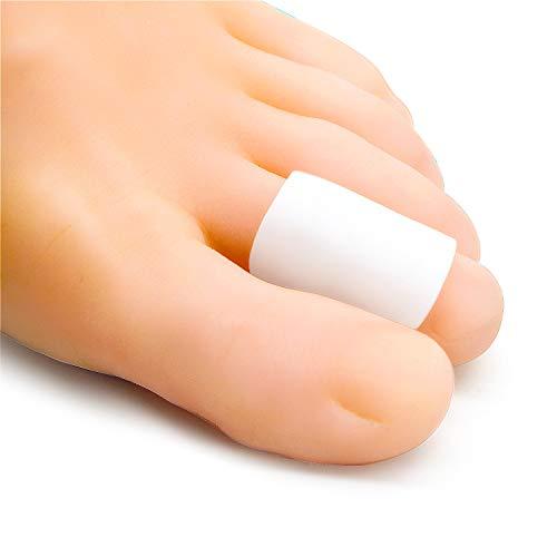 Bukihome Zehenschutz, [12x] Silikon Zehenkappen, zur Polsterung der Zehenblende, Hühneraugen, Hornhaut, ideal zum Laufen, Gehen, Stoppen von Zehenschmerzen