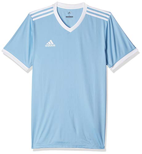 adidas Herren Tabela 18 Trikot, Clear Blue/White, L