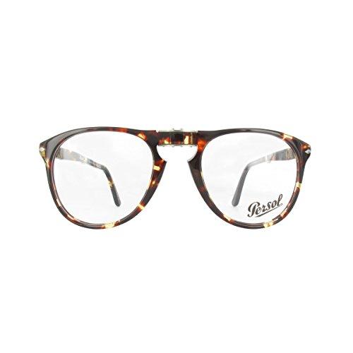 Persol Für Mann 9714vm Folding Tabacco Virginia Kunststoffgestell Brillen, 52mm