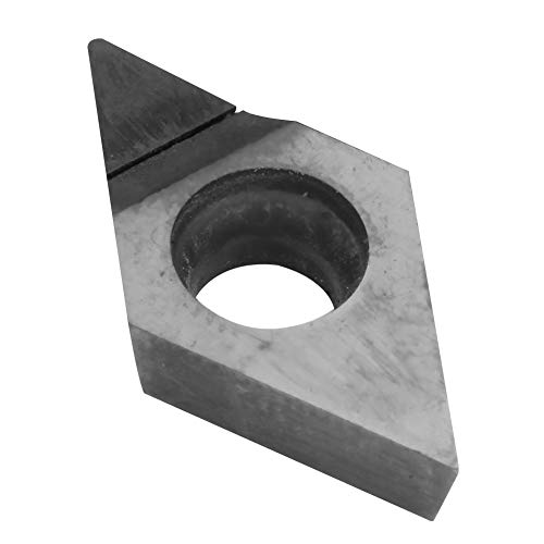 Changor Inserto de Hoja de Diamante, Herramienta de torneado de Diamante de cerámica de aleación de precisión de Corte de Diamante
