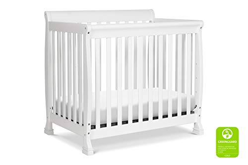 DaVinci Kalani 4-in-1 Convertible Mini Crib in White |...