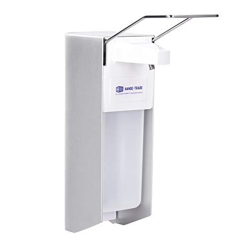 Desinfektionsspender (1000ml) für Händedesinfektion mit Wandbefestigung - Desinfektionsmittelspender für mehr Hygiene - Seifenspender Wandbefestigung als Hygienespender für Desinfektionsmittel