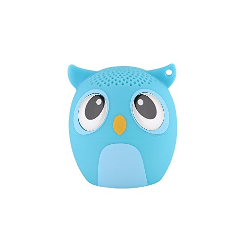 My Audio Pet Solo Mini Bluetooth Animal Wireless Speaker (Owlcapella Blue)