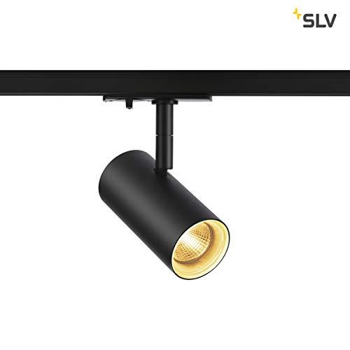 SLV NOBLO Spot, schwarz, 2700K, 36°, inkl. 1P-Adapter Leuchte, Aluminium, 7.5 W