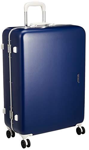 [サンコー] SERIES-R スーツケース セリエス 静音双輪キャスター ステッカー付 キャスターカバー付 75L 66 cm 5.2kg ネイビー