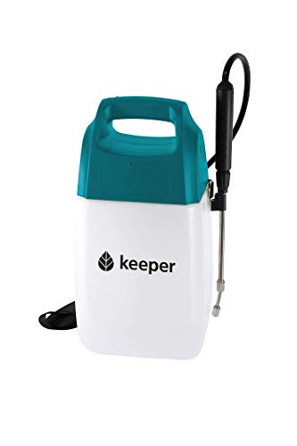 Keeper  Pulvérisateur électrique avec batterie au lithium - 6 L - Norme CE