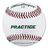 MacGregor 79P leather baseballs are very versatile practice baseballs.