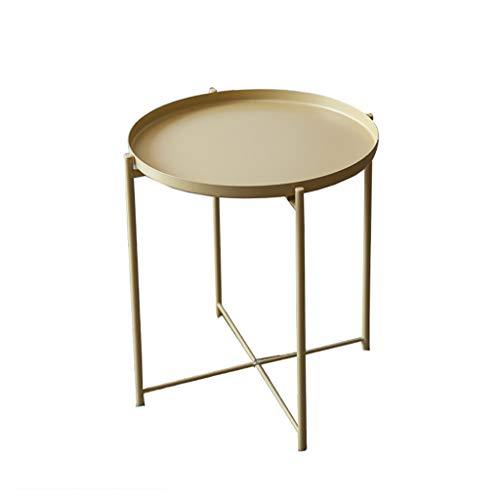 Table basse Côté nordique Art de fer Canapé de salon simple et moderne Petite table ronde